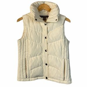 Kenneth Cole Reaction off white  down puffer vest